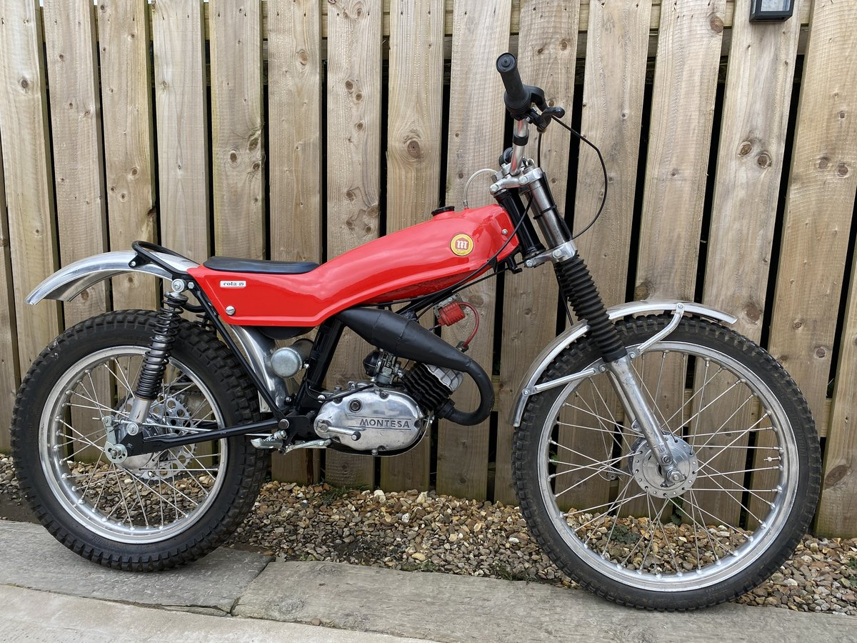 1978 MONTESA COTA 49 MINI TRIAL MINT AND RARE CLASSIC £3795 OFFER For Sale (picture 1 of 5)