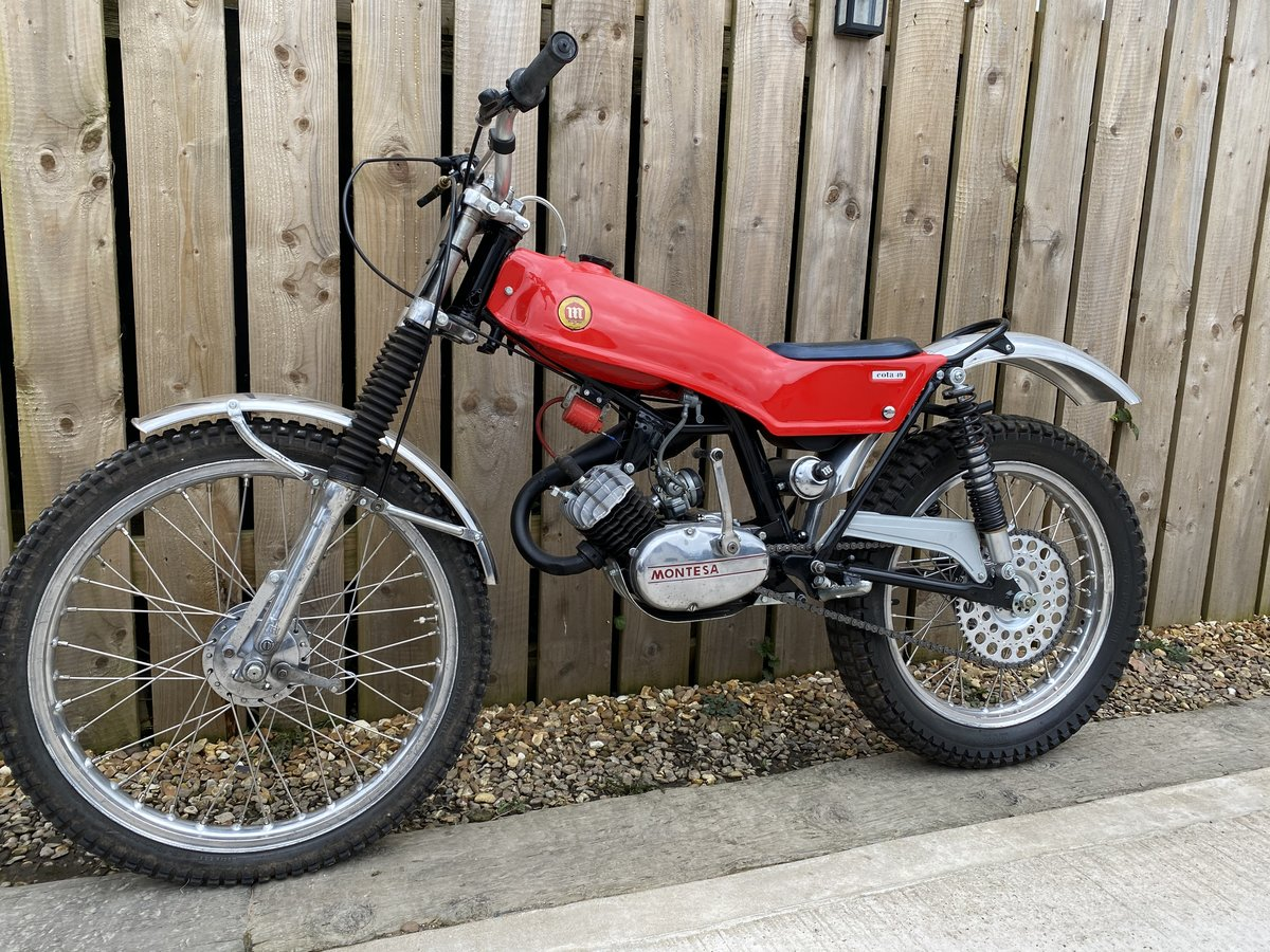 1978 MONTESA COTA 49 MINI TRIAL MINT AND RARE CLASSIC £3795 OFFER For Sale (picture 2 of 5)