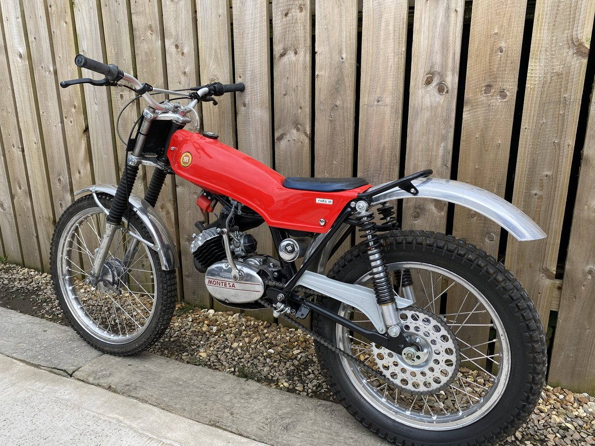 1978 MONTESA COTA 49 MINI TRIAL MINT AND RARE CLASSIC £3795 OFFER For Sale (picture 3 of 5)