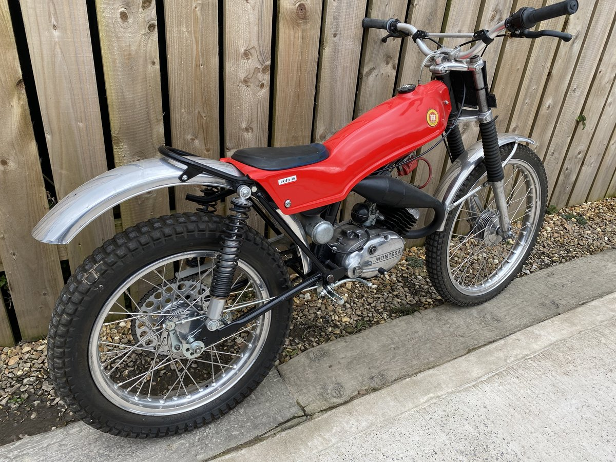 1978 MONTESA COTA 49 MINI TRIAL MINT AND RARE CLASSIC £3795 OFFER For Sale (picture 4 of 5)