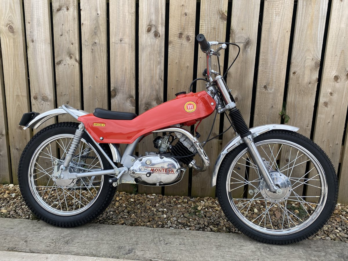 1975 MONTESA COTA 25 MINI TRIAL MINT AND RARE CLASSIC £5295 OFFER For Sale (picture 1 of 6)