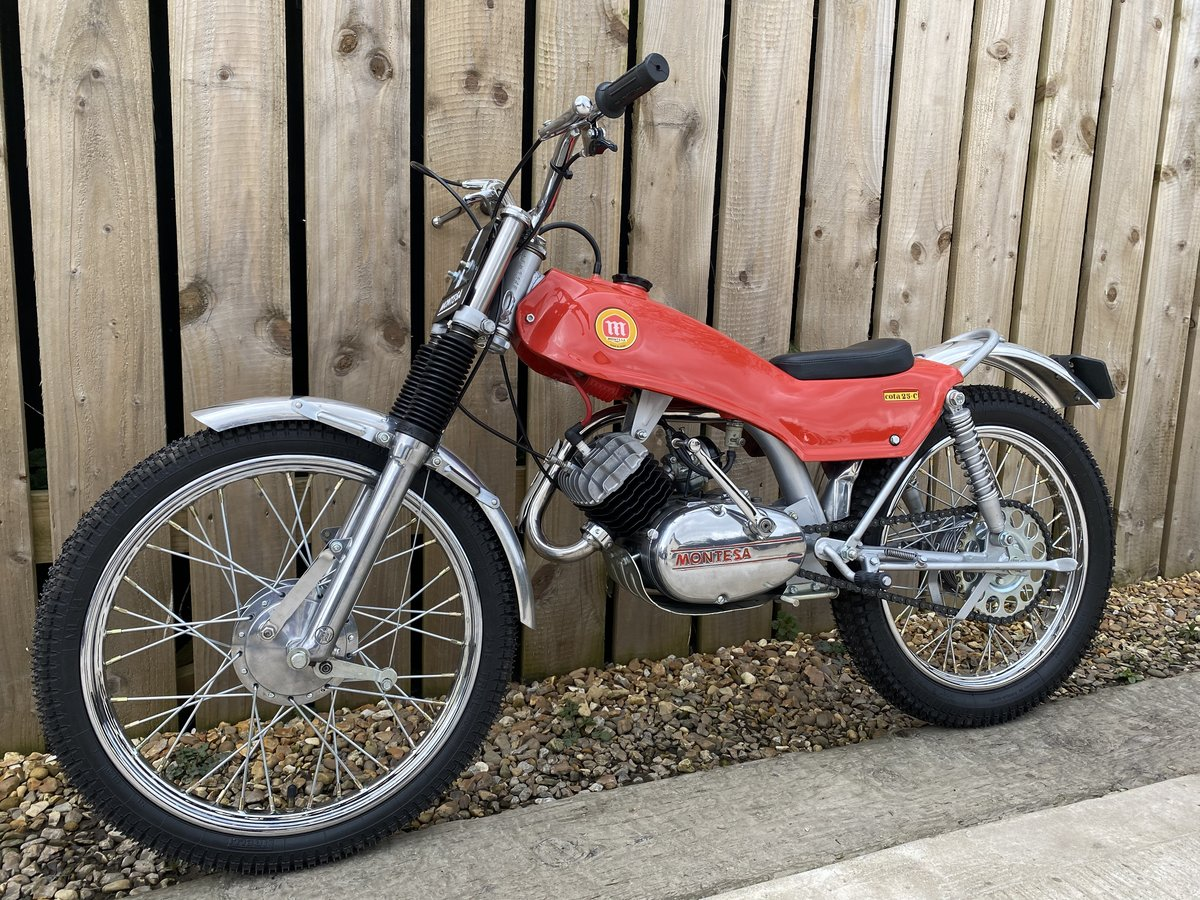 1975 MONTESA COTA 25 MINI TRIAL MINT AND RARE CLASSIC £5295 OFFER For Sale (picture 2 of 6)