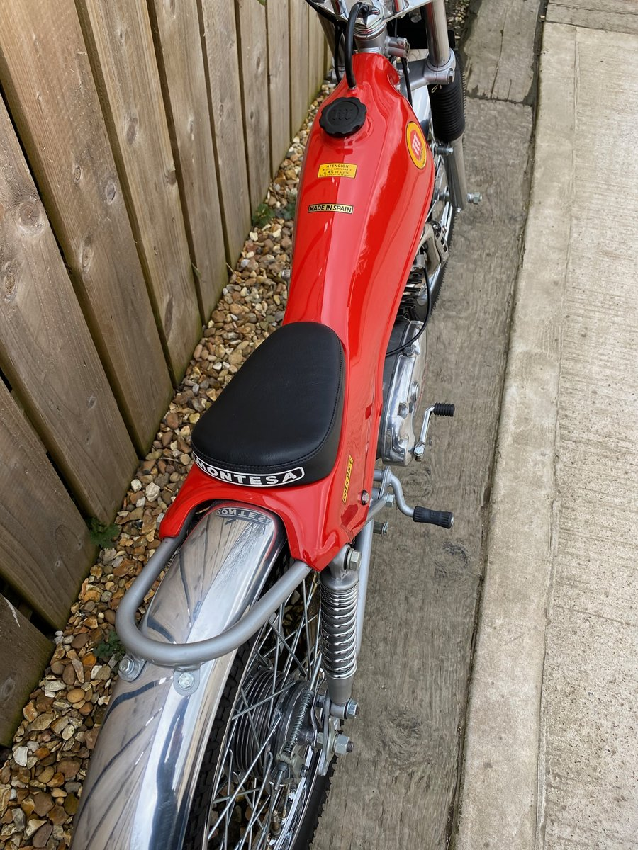 1975 MONTESA COTA 25 MINI TRIAL MINT AND RARE CLASSIC £5295 OFFER For Sale (picture 5 of 6)