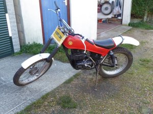 Montesa 348 Trials bike