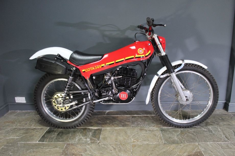 c1980 Montesa Cota 349 Trials Bike  , Highly successful For Sale (picture 1 of 6)