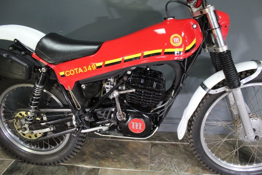 c1980 Montesa Cota 349 Trials Bike  , Highly successful For Sale (picture 4 of 6)