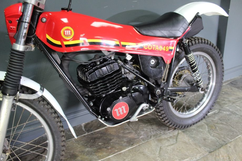 c1980 Montesa Cota 349 Trials Bike  , Highly successful For Sale (picture 6 of 6)