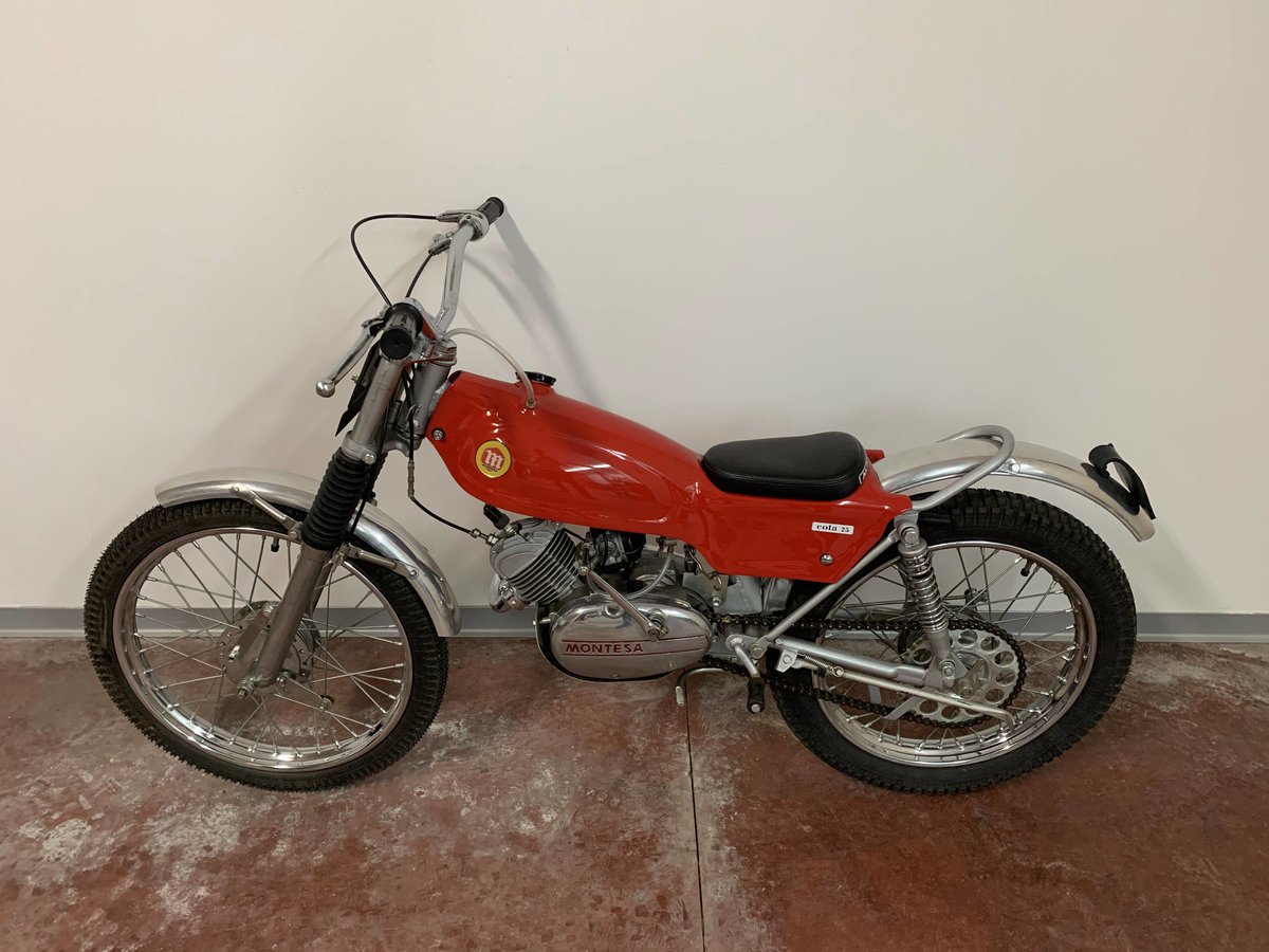 1971 Montesa cota 25 a full restored For Sale (picture 4 of 5)