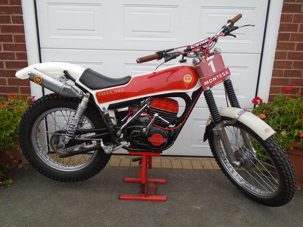 Montesa 348  trials bike amazing one off