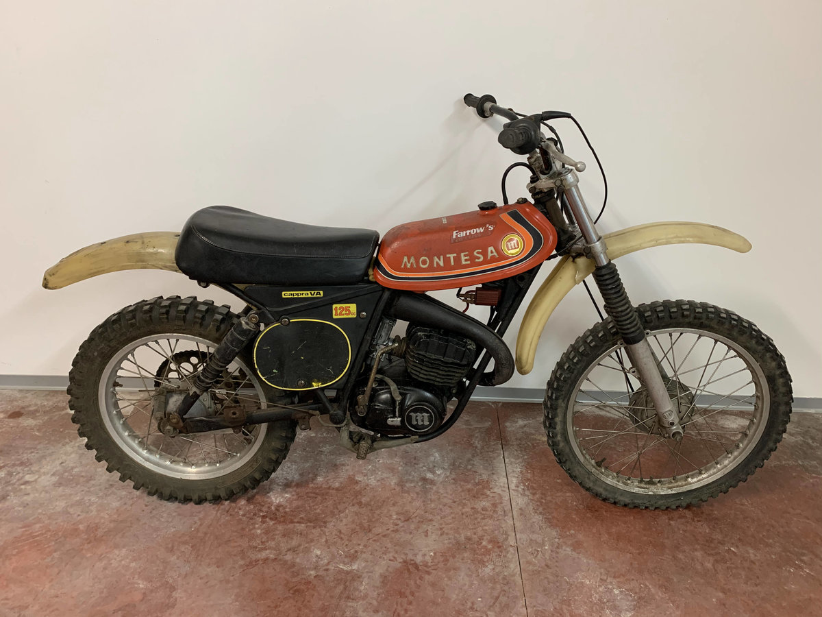 Picture of 1975 Montesa Cappra VA 125 well preserved For Sale