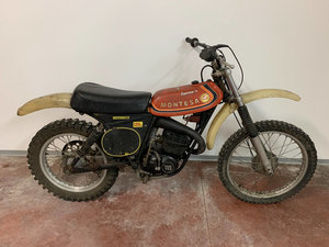 Montesa Cappra VA 125 well preserved