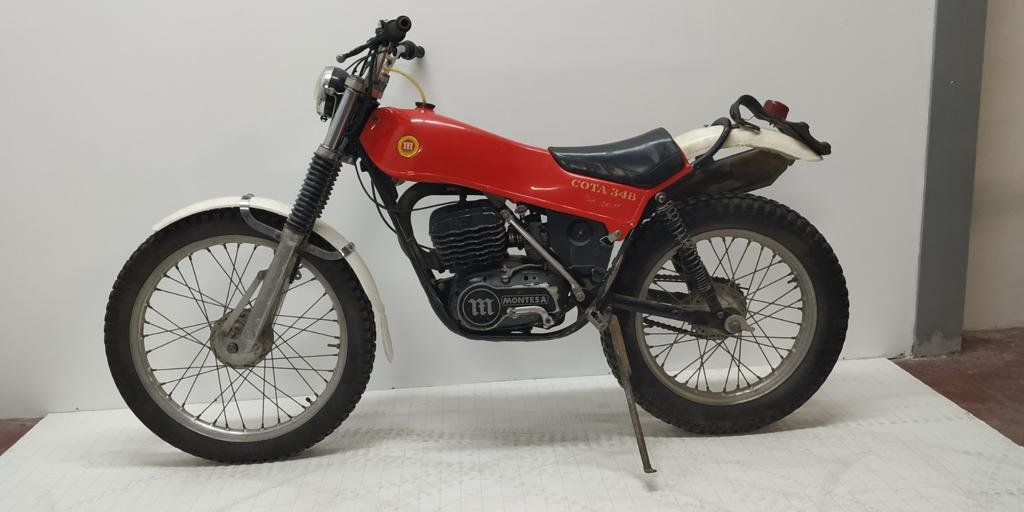1977 Montesa 348 well preserved! For Sale (picture 1 of 2)