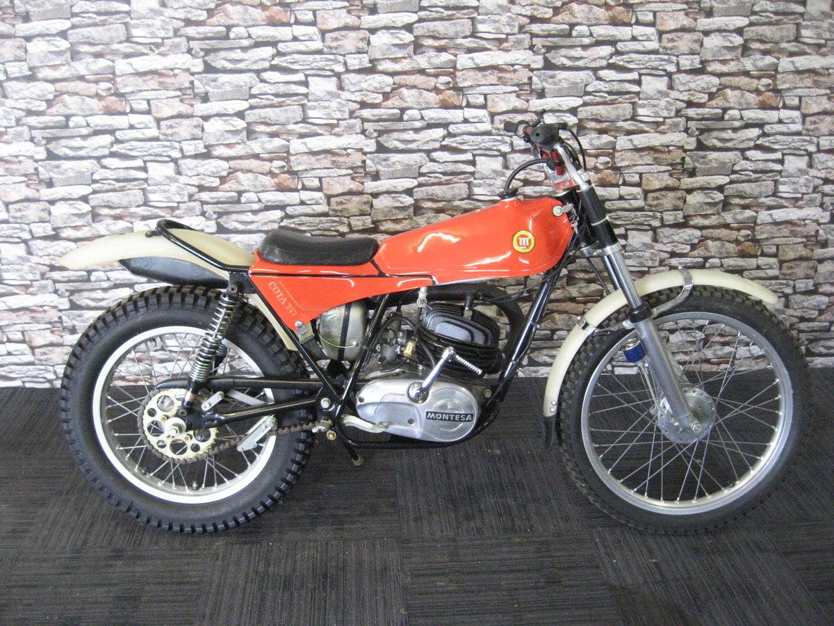 1978 Montesa Cota 247 classic twin shock trials bike For Sale (picture 1 of 12)