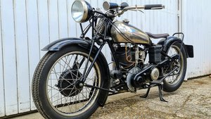 MONTGOMERY-JAP 1,000CC V-TWIN 1929 Brough