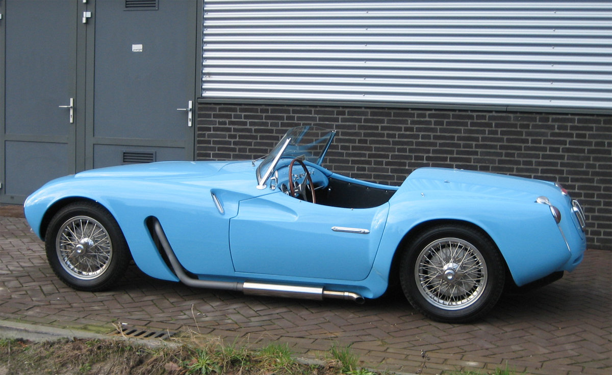 1955 Moretti 1200 Sport spider For Sale (picture 2 of 6)
