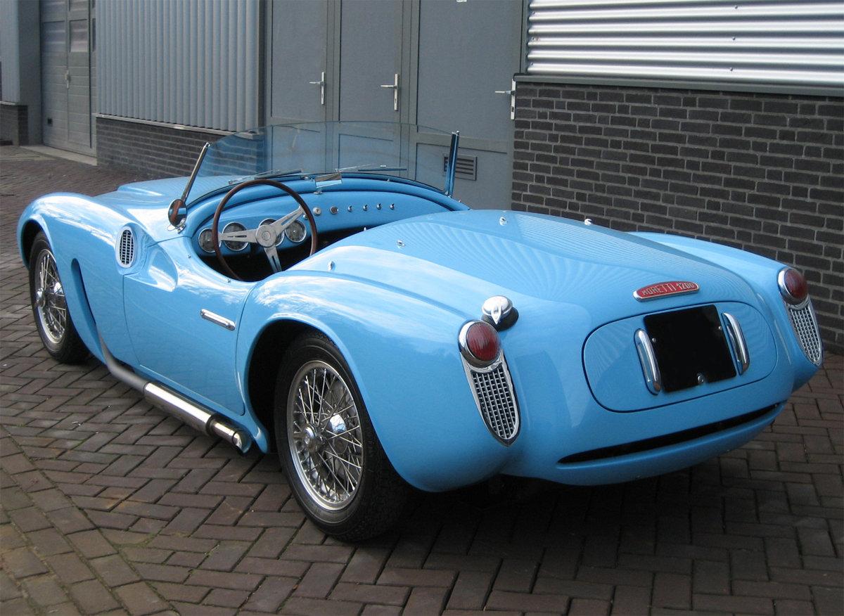 1955 Moretti 1200 Sport spider For Sale (picture 3 of 6)