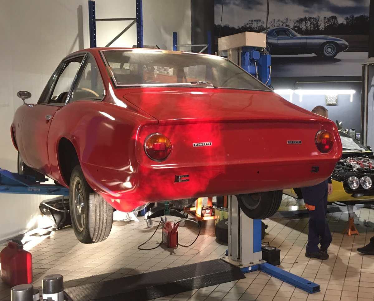 1968 Moretti 124S Berlinetta  For Sale (picture 3 of 6)