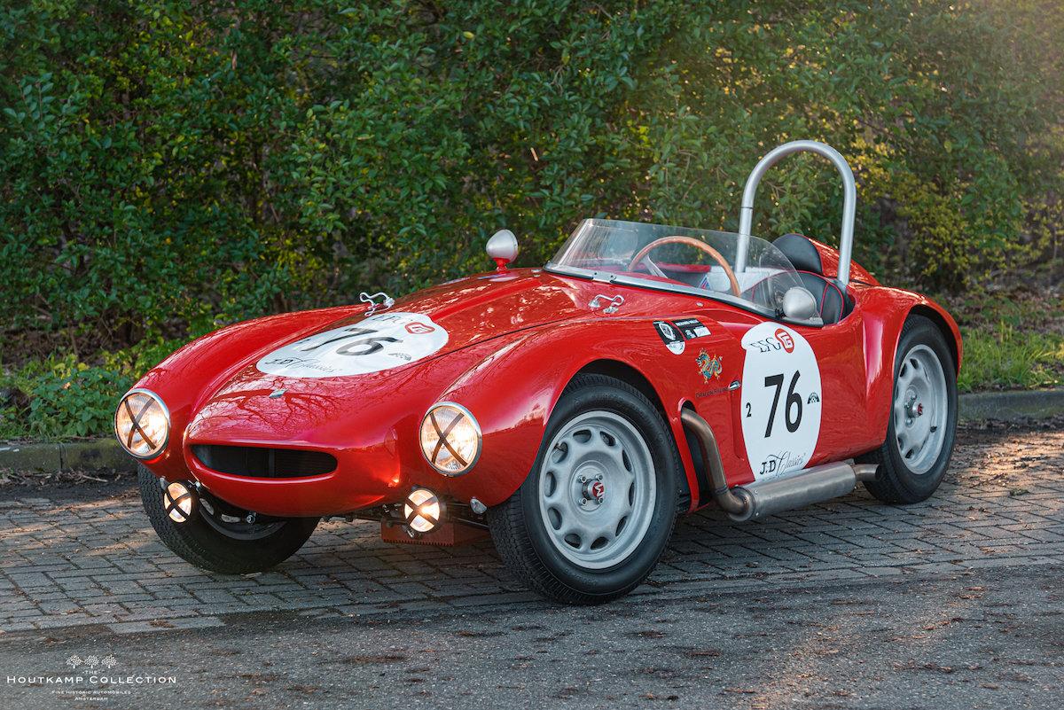 1955 MORETTI 750 SPORT BARCHETTA, veteran 1955 Mille Miglia For Sale (picture 1 of 6)