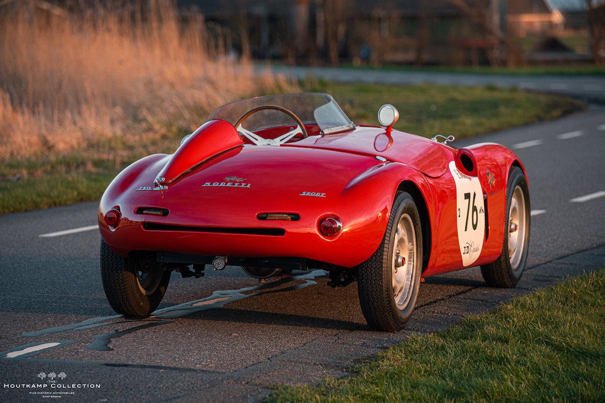 1955 MORETTI 750 SPORT BARCHETTA, veteran 1955 Mille Miglia For Sale (picture 3 of 6)