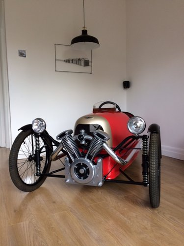 2009 Morgan 3 wheeler supersport number 71 of 250 For Sale (picture 4 of 6)