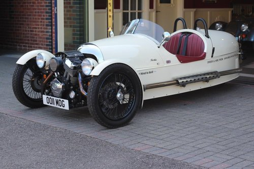 2017 Morgan 3 Wheeler For Hire - £220/ day For Sale (picture 1 of 4)