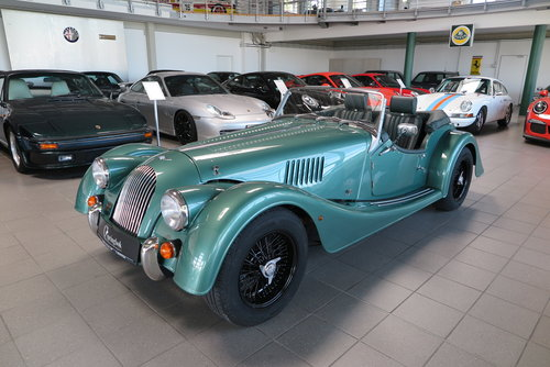 2013 Morgan Roadster 3.7 V6 in Aston Martin Almond Green Metallic For Sale (picture 3 of 6)
