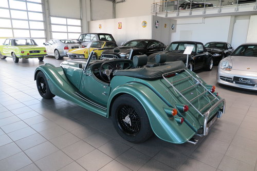 2013 Morgan Roadster 3.7 V6 in Aston Martin Almond Green Metallic For Sale (picture 4 of 6)
