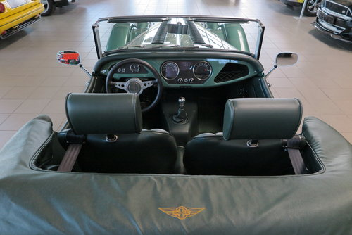 2013 Morgan Roadster 3.7 V6 in Aston Martin Almond Green Metallic For Sale (picture 6 of 6)