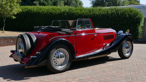 1952 Morgan +4 Drophead Coupe SOLD (picture 3 of 6)