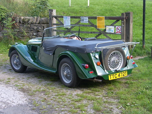1978 Morgan 4/4 4 seater SOLD (picture 2 of 6)