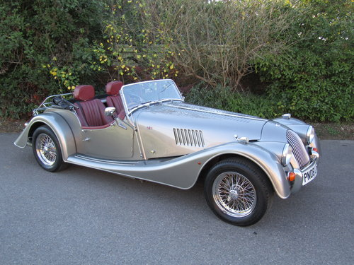 2008 Morgan Plus-4 2.0 Duratec SOLD (picture 1 of 3)