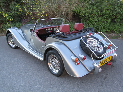 2008 Morgan Plus-4 2.0 Duratec SOLD (picture 2 of 3)