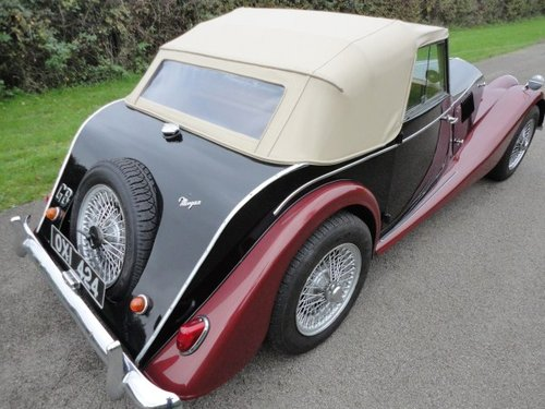1962 Morgan Plus 4 Drophead Coupe LHD For Sale (picture 2 of 6)