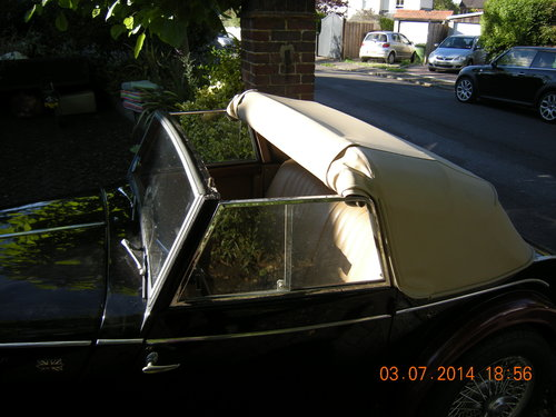 1962 Morgan Plus 4 Drophead Coupe LHD For Sale (picture 5 of 6)