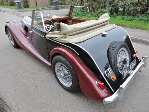 1962 Morgan Plus 4 Drophead Coupe LHD For Sale (picture 6 of 6)