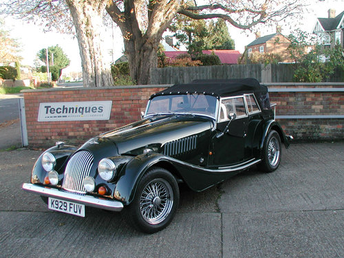 1993 Morgan +4 T16 4 Seater SOLD (picture 1 of 6)
