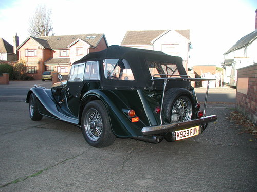 1993 Morgan +4 T16 4 Seater SOLD (picture 3 of 6)