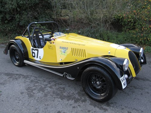 2016 Morgan ARV6 3.7 Roadster - Road registered race car. For Sale (picture 1 of 6)