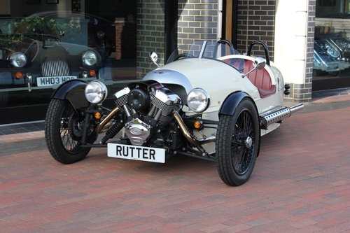 2017 Morgan 3 WHEELER - £37,995 REDUCED PRICE For Sale (picture 1 of 6)