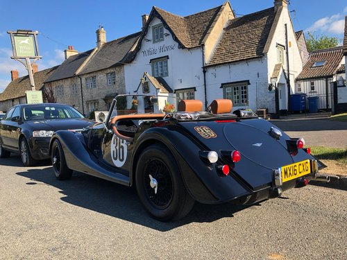 2016 MORGAN 4/4 CLASSIC SPORTS CAR AVAILABLE FOR SELF DRIVE HIRE For Hire (picture 3 of 4)