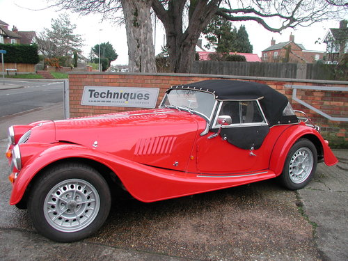 1993 Corsa Red Morgan +8 - £30,750 SOLD (picture 1 of 6)