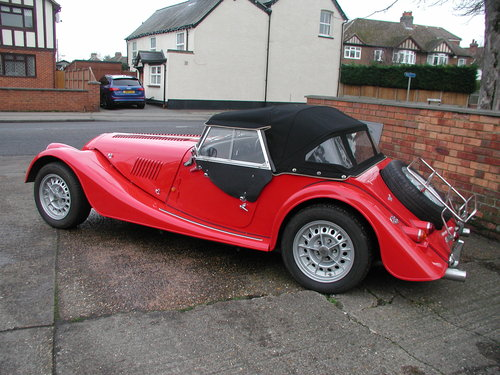 1993 Corsa Red Morgan +8 - £30,750 SOLD (picture 2 of 6)