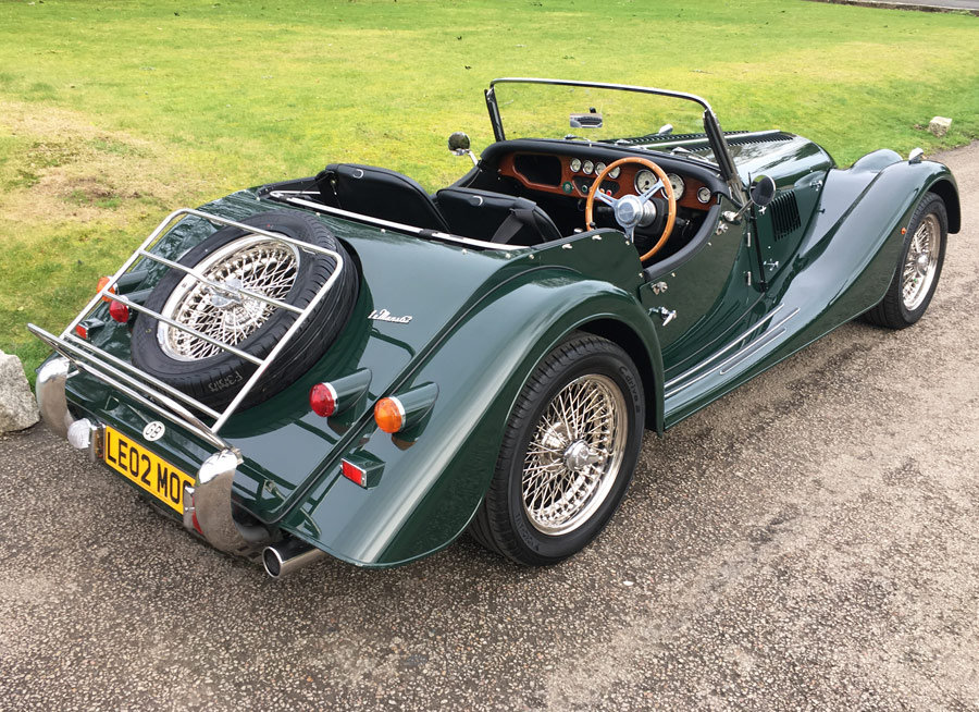 2002 Morgan Plus 8 Le Mans 62  SOLD (picture 2 of 12)