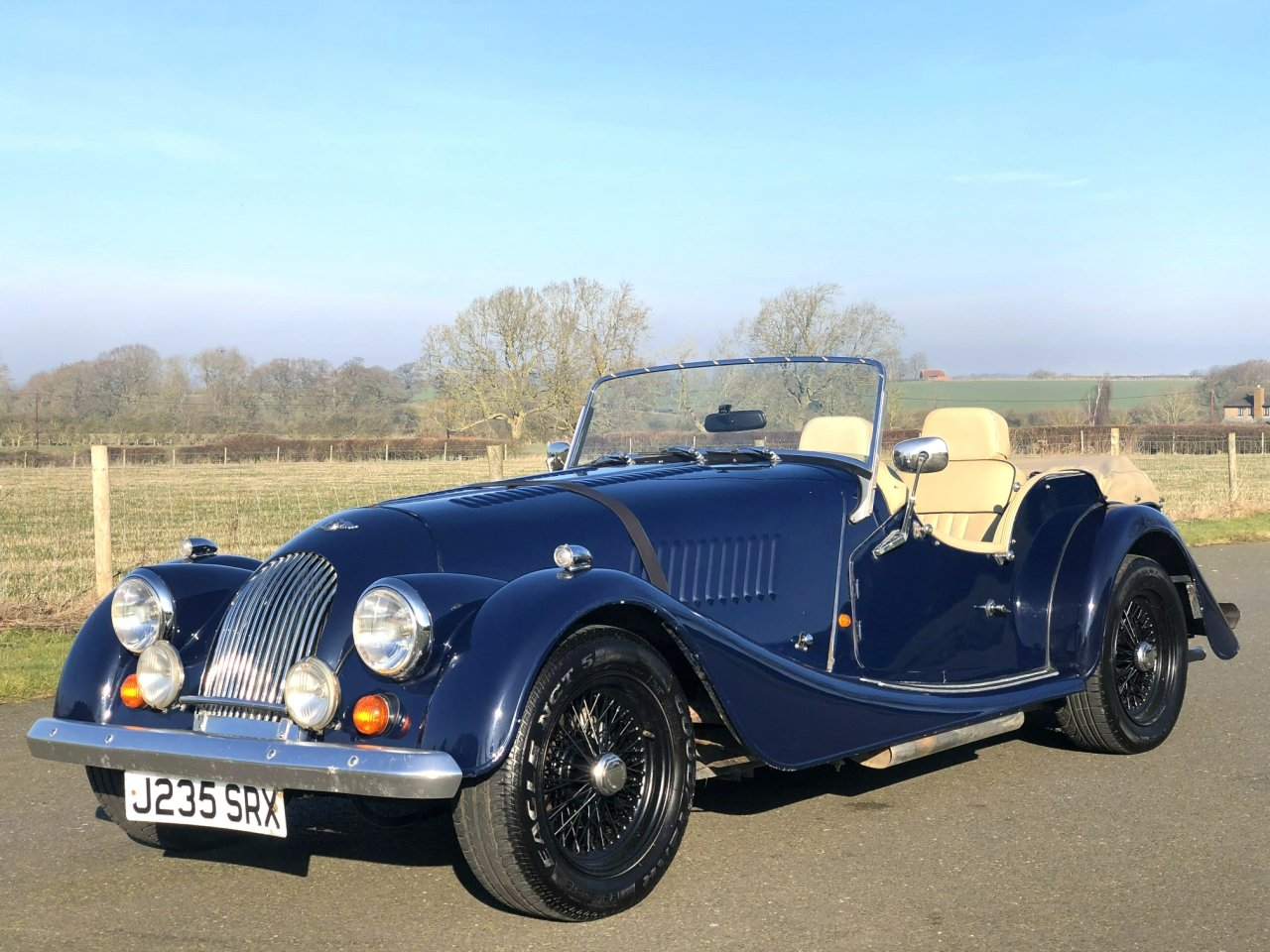 1992 Morgan Plus 4 SOLD (picture 1 of 6)