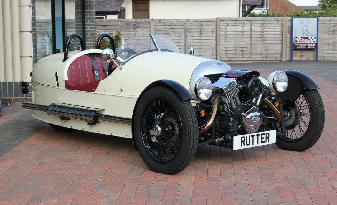 2017 Morgan 3 WHEELER - £38,500 For Sale (picture 1 of 6)