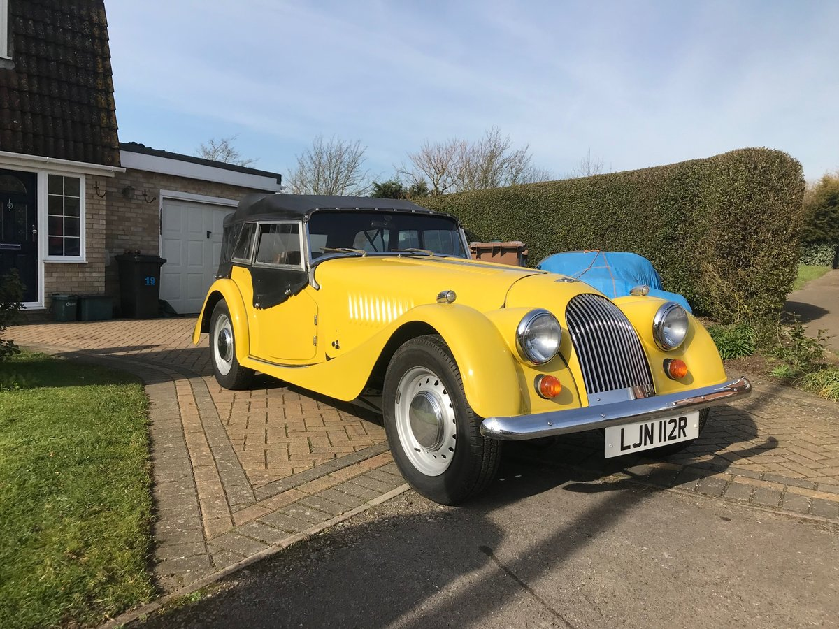 Morgan 4/4 4 seater 1976 SOLD (picture 3 of 6)