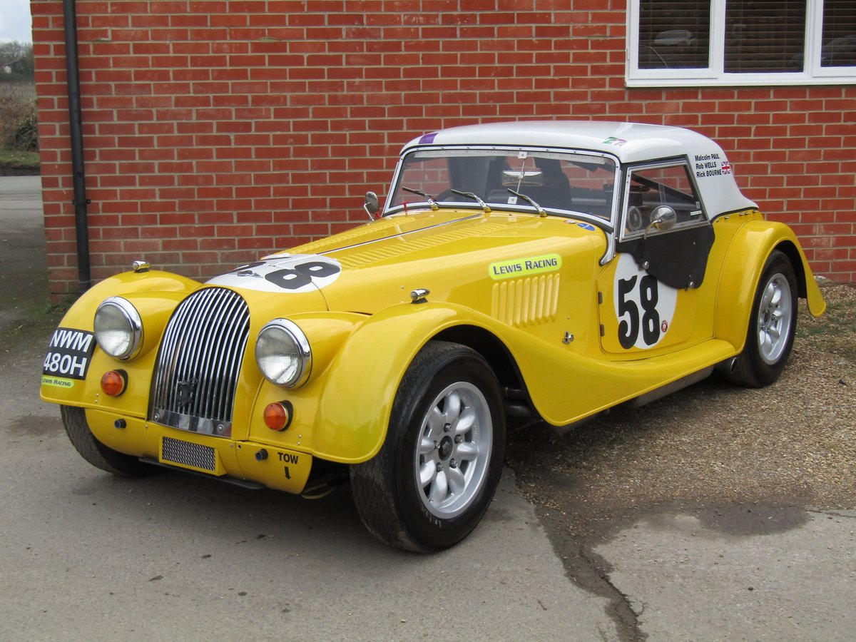 1970 Morgan Plus-8 Moss box. FIA specification For Sale (picture 1 of 6)