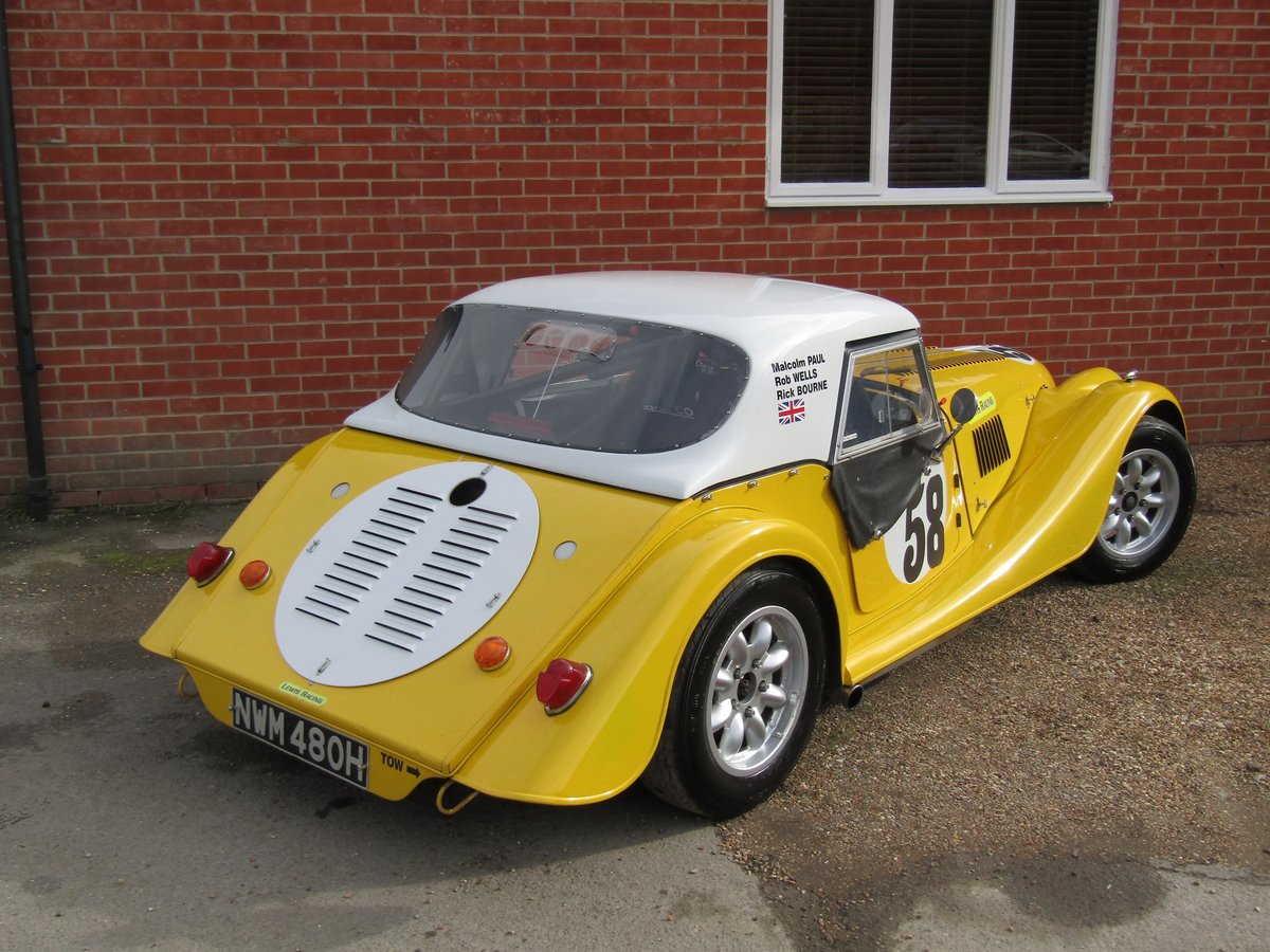 1970 Morgan Plus-8 Moss box. FIA specification For Sale (picture 2 of 6)