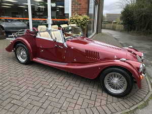 2010 MORGAN PLUS 4 2.0 2-SEATER (1 owner & just 10,000 miles)
