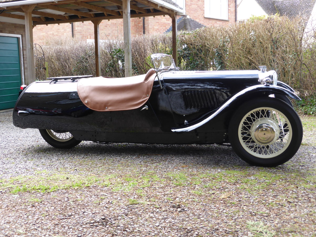1936 Morgan 3 Wheeler F2, full restoration For Sale (picture 2 of 6)